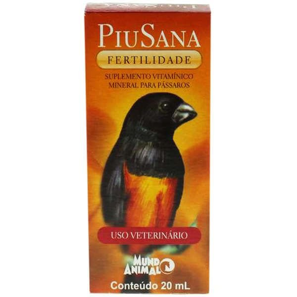 Suplemento Vitamínico PiuSana Fertilidade - 20 mL