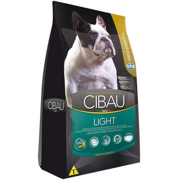 Ração Farmina Cibau Light para Cães Adultos com Tendência a Obesidade de Raças Pequenas