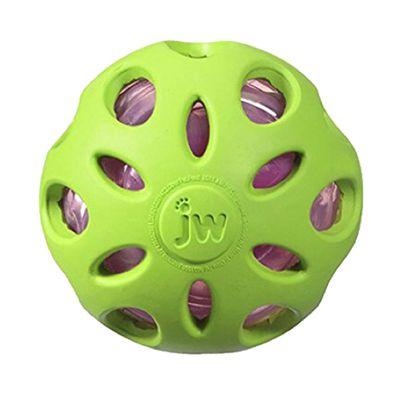 Bola Jw Pet Crackle Ball Cuz Para Cães - Verde