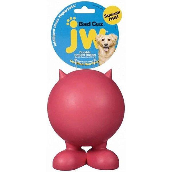 Brinquedo JW Bad Cuz - Vermelho