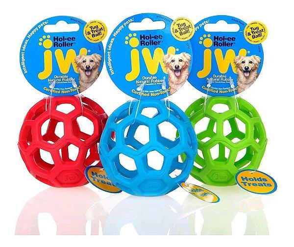 Brinquedo Jw Holee Roller Bola Para Cães Pequeno Cores Sortidas