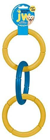 Brinquedo JW Invincible Chains Tamanho Grande