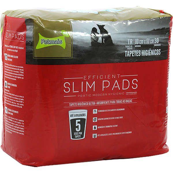 Tapete Higiênico Slim Pads 80 x 60 - 30 Folhas