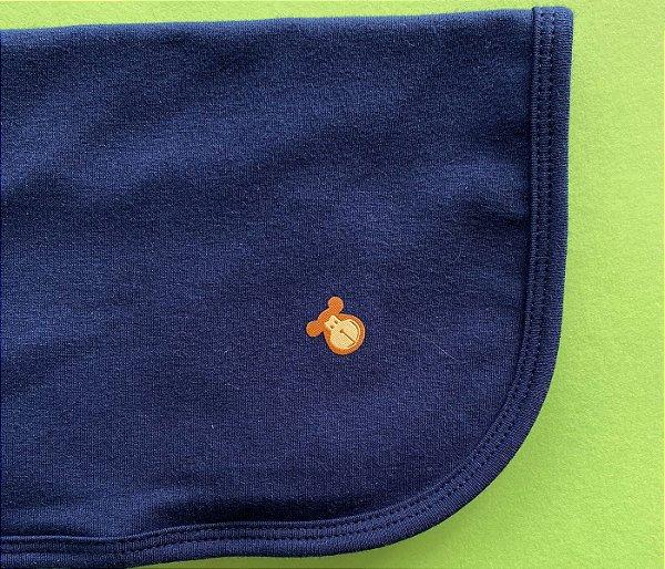 Paninho de chupeta cor azul marinho