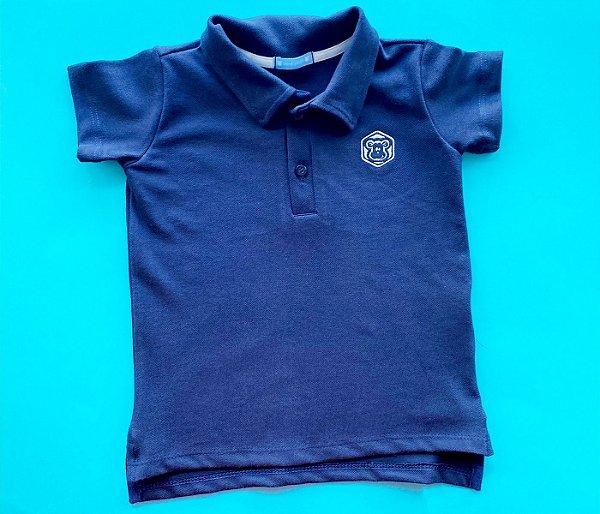 Gola Polo infantil Azul Marinho