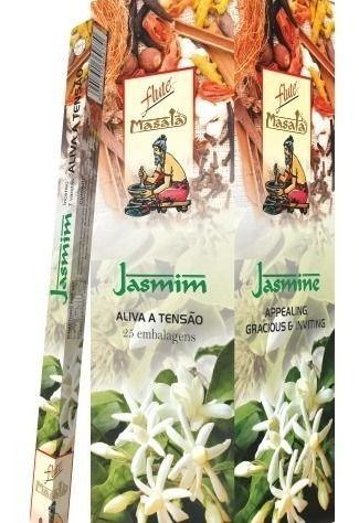 Incenso Natural Flute Massala Jasmin 7 Varetas