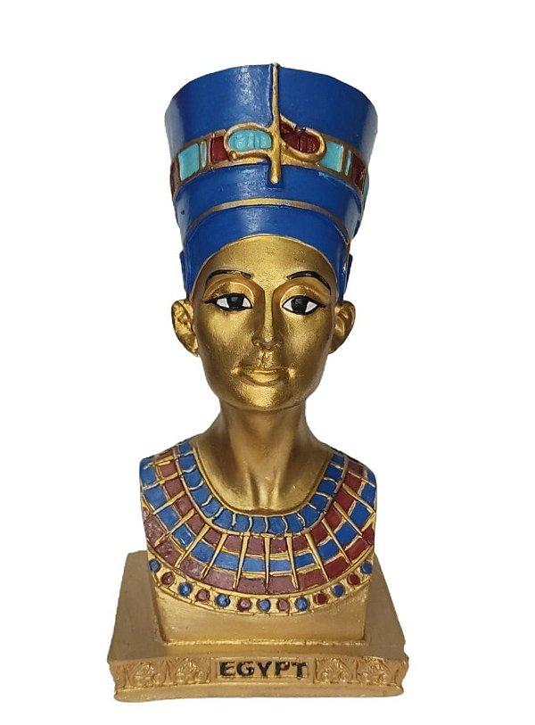 Busto Nefertiti Resina 20 cm