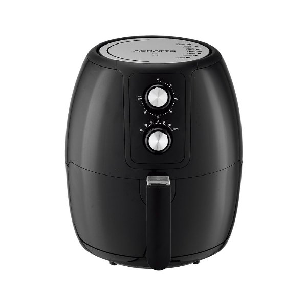 Fritadeira Elétrica Air Fryer Supremma Preta 3,6l Agratto