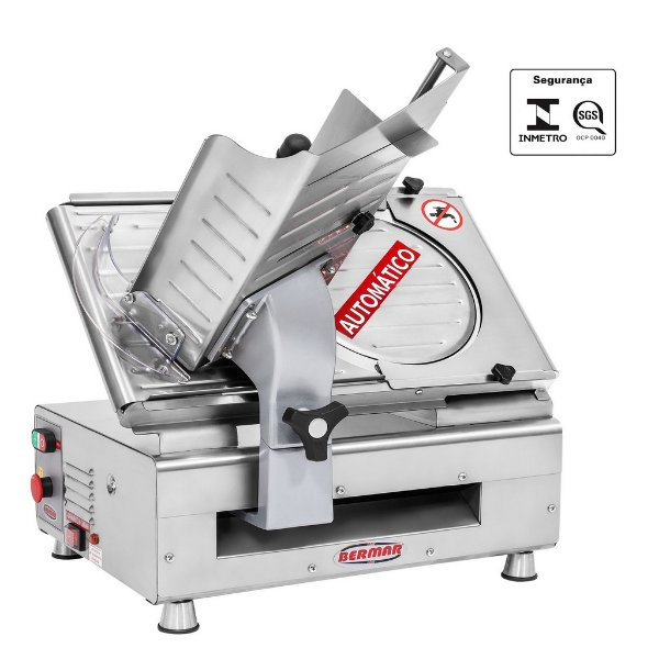 Cortador de frios automatico lamina 300 mm bm 18 nr pf bivolt