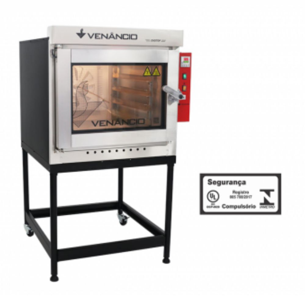 Forno turbo digitop venancio a gas 5 Esteiras