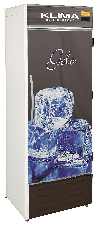 Freezer Vertical Conservação Gelo Klima