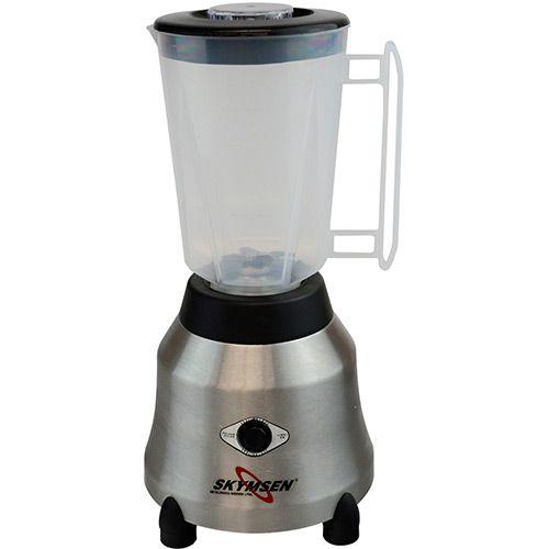 Liquidificador inox copo plastico alta rotacao LT 1.5 litros