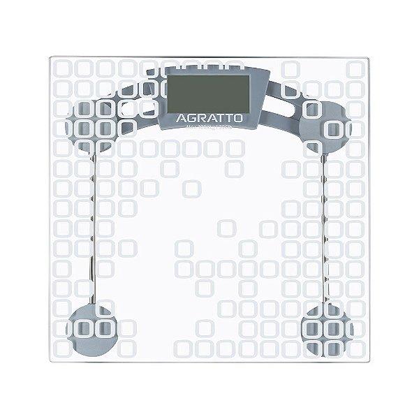 Balança de Vidro Capacidade 180KG Agratto LEVVE BL04