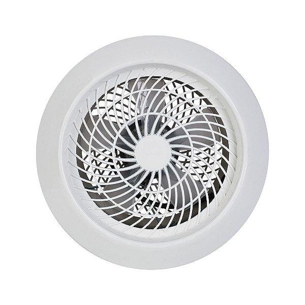 Exaustor 25cm Residencial Axial Branco 60W Ventisol