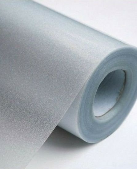Adesivo jateado Fosco 1 metro de largura x 1 metro de comprimento