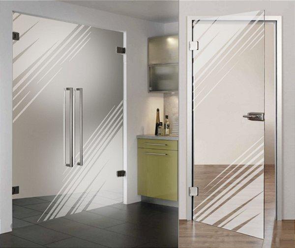 Adesivo jateado cantoneira - Kit 2 peças de 90x90 (serve para qualquer porta ou janela)