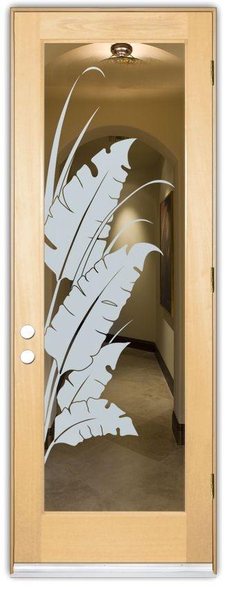 Adesivo Jateado - Natureza - Folhas 170x060 cm