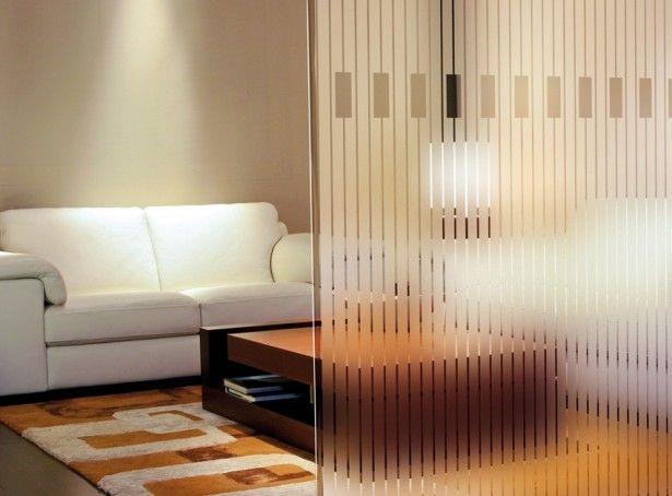 Adesivo Jateado - Faixas Verticais Piano m2 100x100 cm