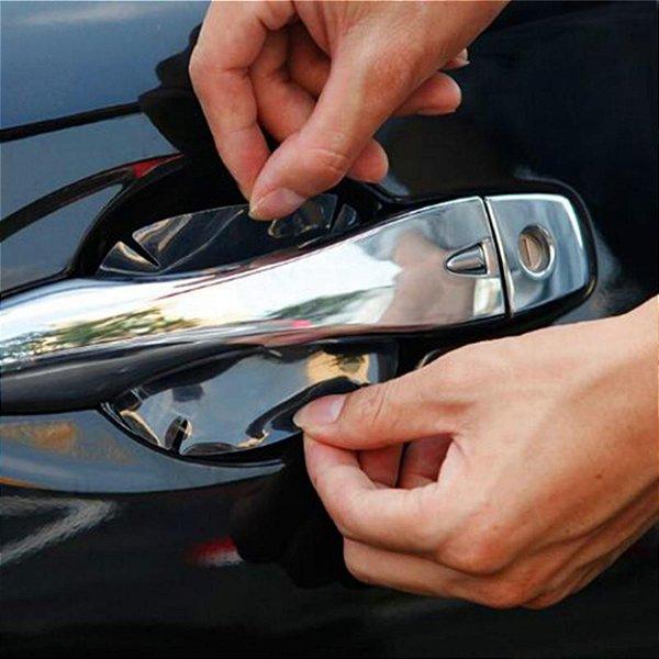 Adesivo Transparente Anti-arranhões Para Maçaneta da porta do carro Kit com 4 pçs
