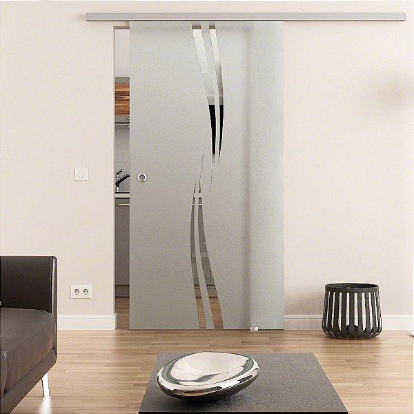 Adesivo Jateado Para Portas, Janelas e Box de Vidro Ads028 Mitsui  210x100 cm