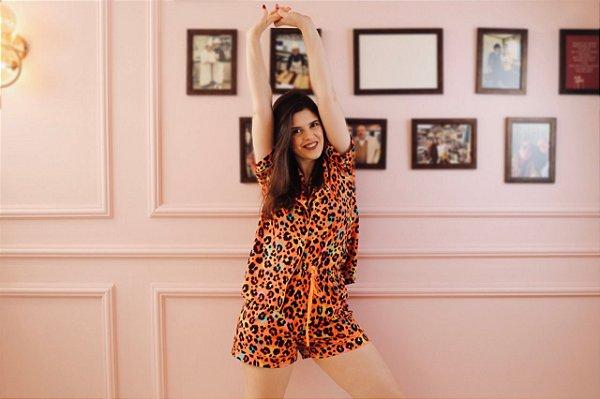 Pijama Brilhe Short e Blusa de Manga Curta