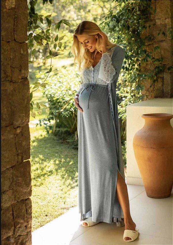 Camisola Maternidade Longa Sweet