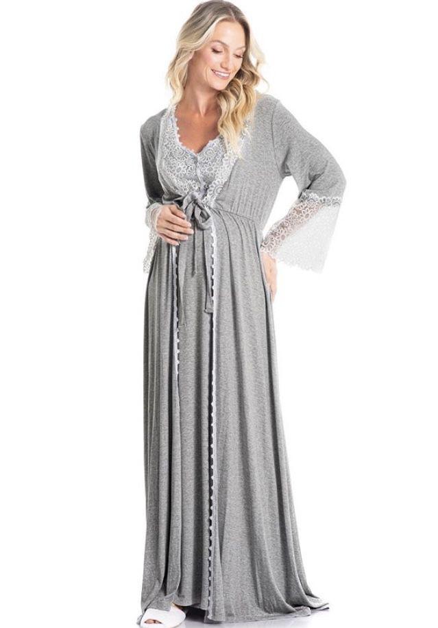 Robe Maternidade Longo Sweet