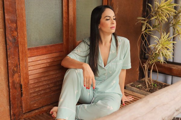 Pijama Due Amici Calça e Manga Curta
