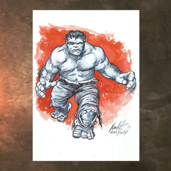 Hulk after Jack Kirby