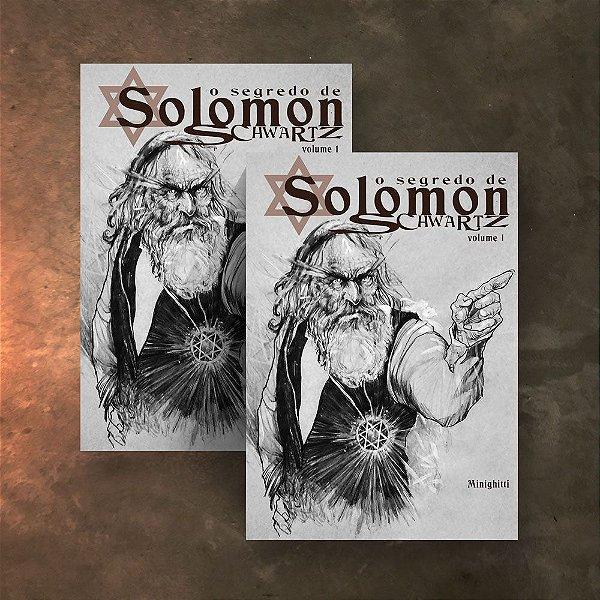 COMBO  2 HQs - O Segredo de Solomon Schwartz