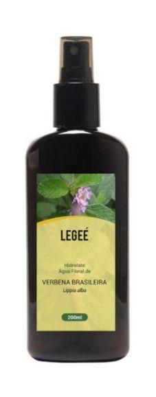 LEGEÉ - Hidrolato de Verbena Brasileira (Lippia alba) ORGÂNICO - 200ml