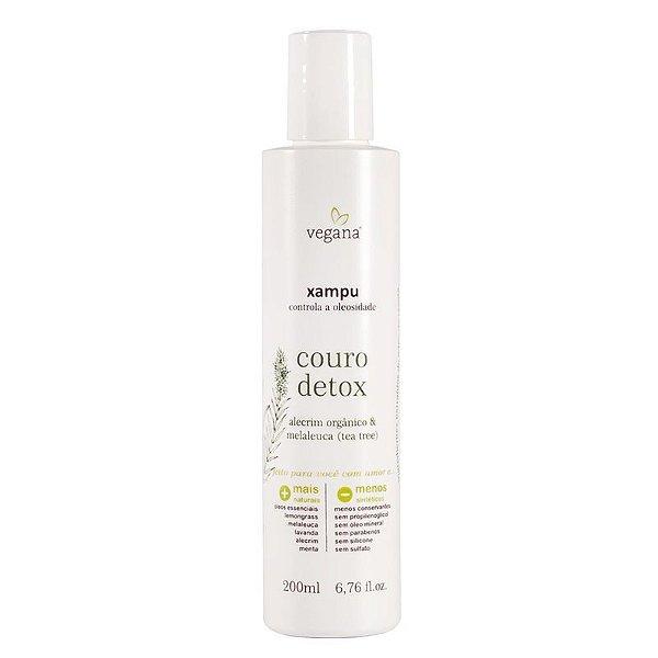 VEGANA - Xampu Couro Detox - 200ml