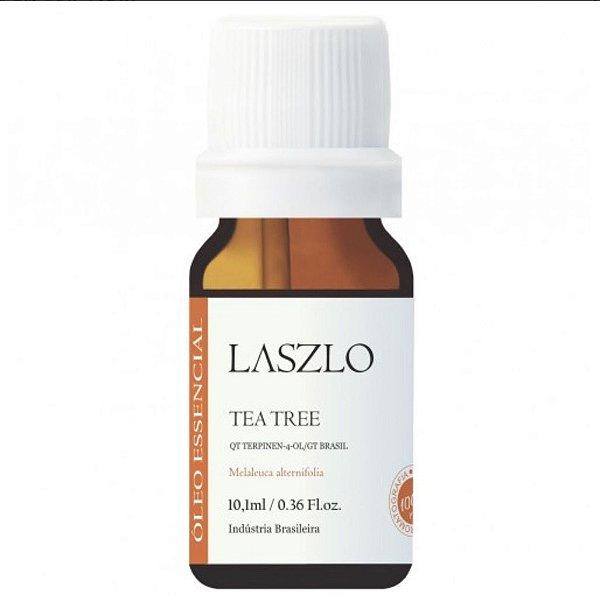 Laszlo - Óleo Essencial de Tea Tree - Melaleuca -  GT Brasil Org. 10,1ml