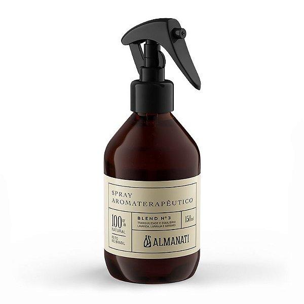 Almanati - Spray Aromaterapêutico Para Tranquilidade E Equilíbrio - Blend 3