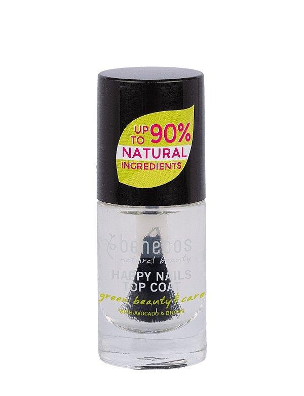 """Benecos - Esmalte 90% Natural """"Happy Nails"""" - Crystal (5ml)"""