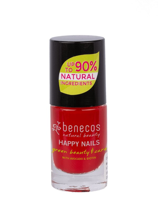 "Benecos - Esmalte 90% Natural ""Happy Nails"" - Vintege Red (5ml)"