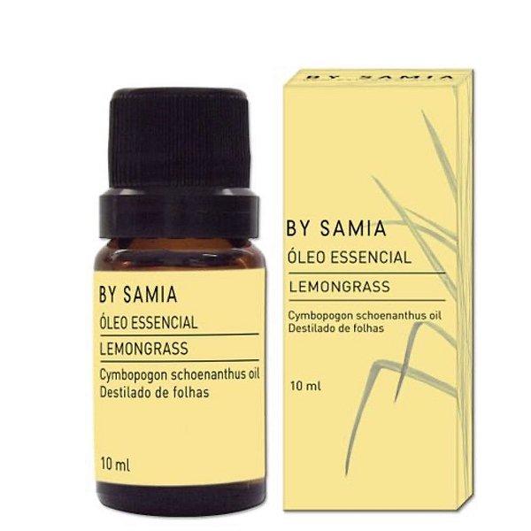 By Samia - Óleo Essencial de Lemongrass 10 ml