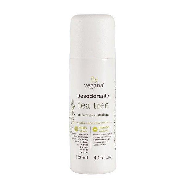 VEGANA - Desodorante Tea Tree - 120ml
