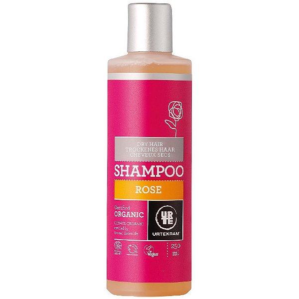 Urtekram - Shampoo Orgânico Gerânio Rose Cabelos Secos 250ml