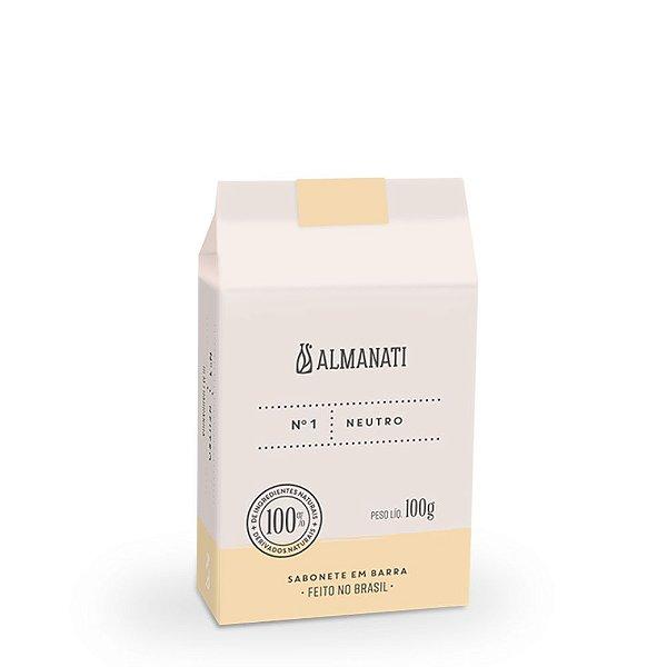 Almanati - SABONETE EM BARRA NEUTRO 100G