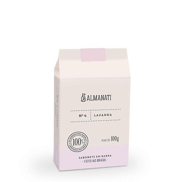Almanati - SABONETE EM BARRA LAVANDA 100G