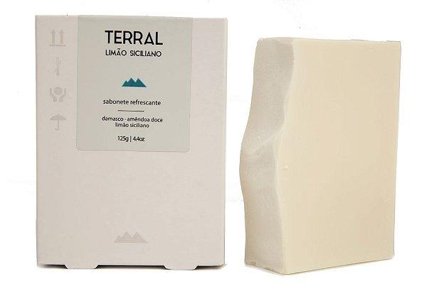 Terral Natural - Sabonete refrescante de Limão Siciliano 125g