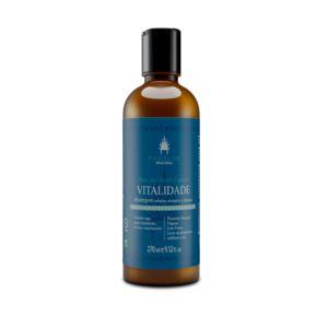 AHOALOE - Shampoo Vitalidade 270ml - Cabelos Normais e Oleosos