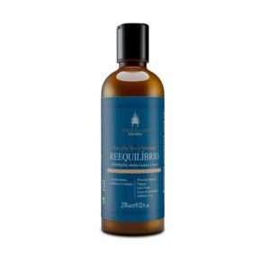 AHOALOE - Shampoo Reequilíbrio 270ml - Cabelos Normais e Secos
