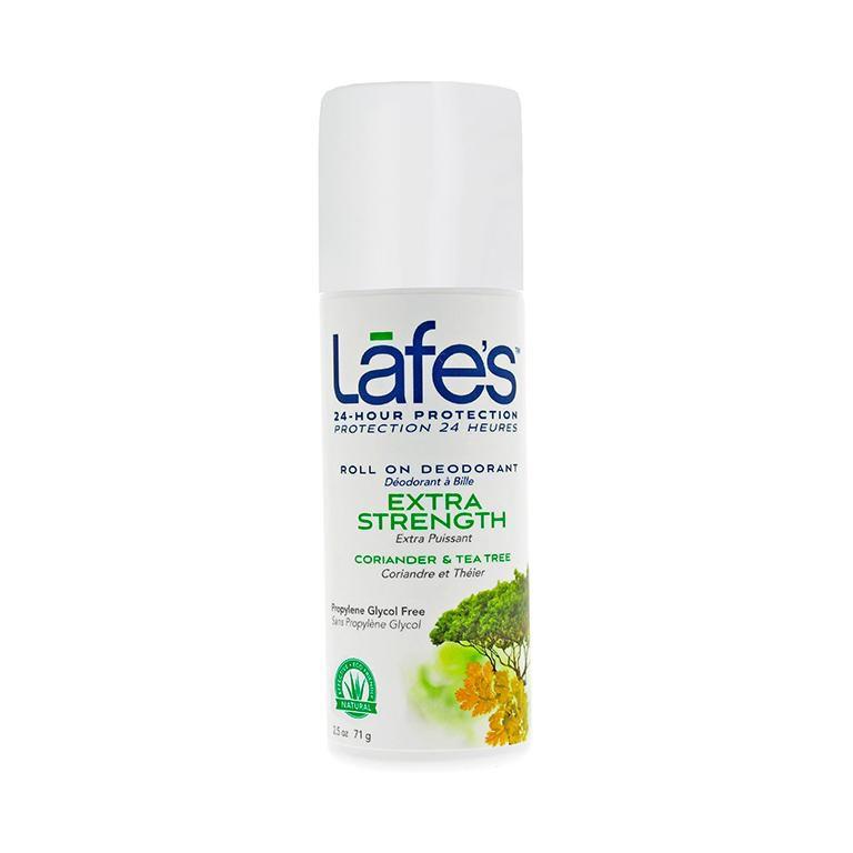 Lafe's - DESODORANTE NATURAL ROLL-ON EXTRA STRENGTH