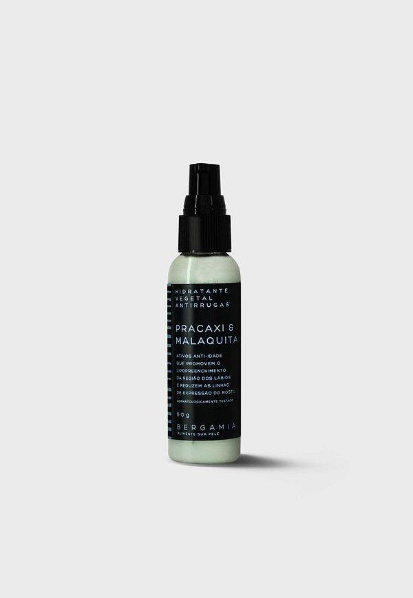 Bergamia - Hidratante vegetal Bioativo Antirrugas de Pracaxi e Malaquita - 60g