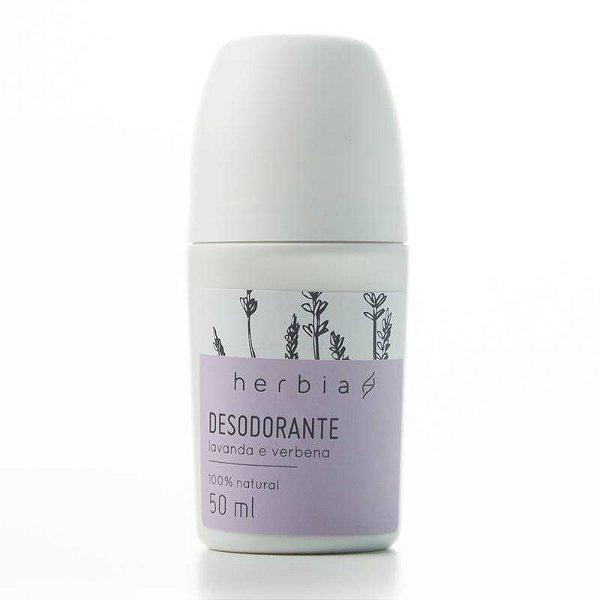 Herbia - Desodorante Natural Lavanda e Verbena Branca - 50ml