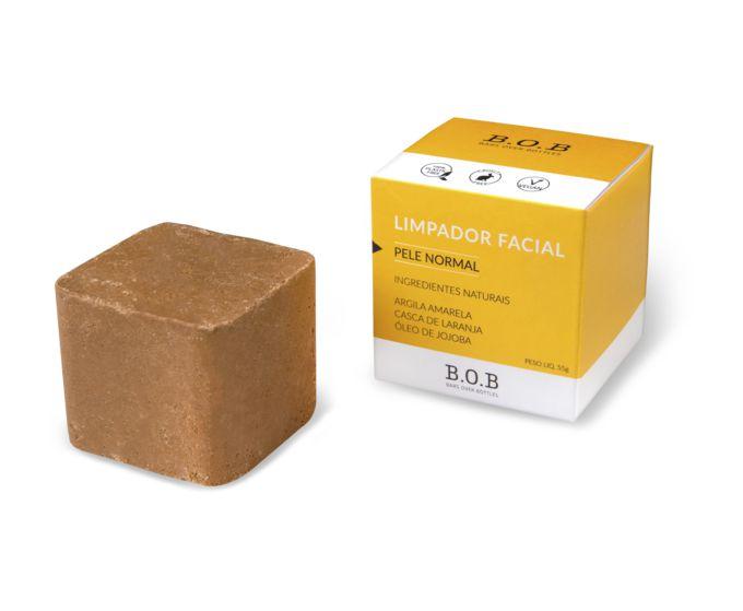 BOB - LIMPADOR FACIAL - PELE NORMAL - 55G