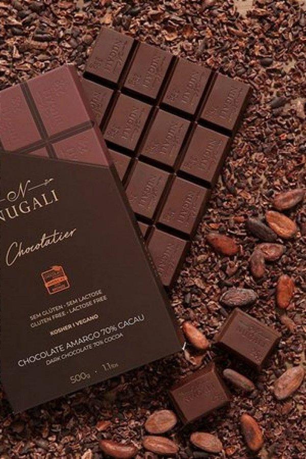 Barra Chocolate Nugali Amargo 70% 500g
