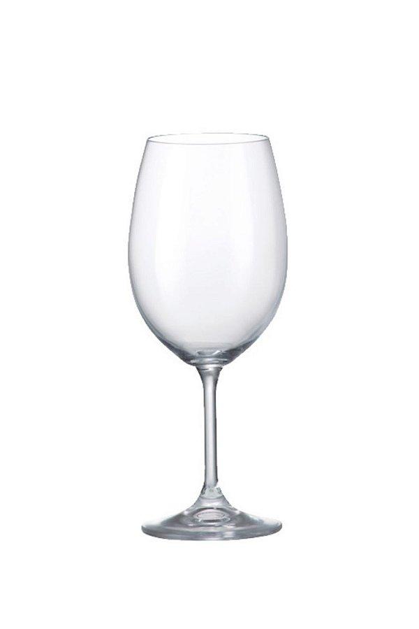 Taça Para Vinho Em Cristal Ecológico 580ml ( Linha Anna)